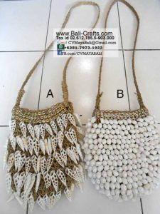 Sea Shell Ethnic Bags from Bali Indonesia